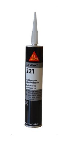 Imagen 1 de 3 de Sikaflex 221 Adhesivo De Poliuretano Multiusos Negro 300ml