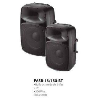 Bafle Ross Pasb-15/100 Bt Activo 2 Vias 300 Watts