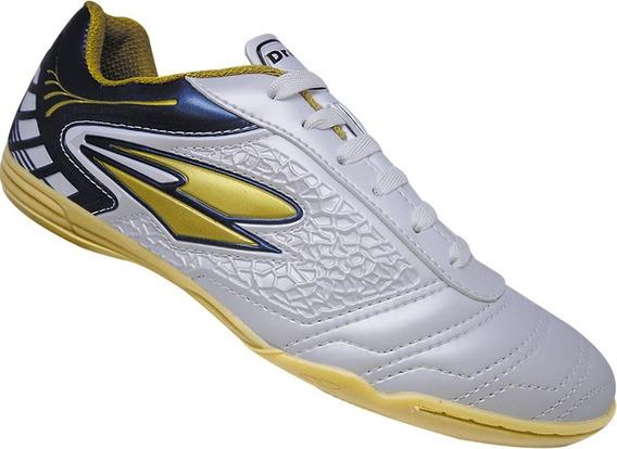 Tenis Indoor Dray Ref 365 Branco X Azul Marinho