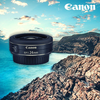 Lente Objetivo Canon Ef-s 24mm F/2.8 Stm - Inteldeals