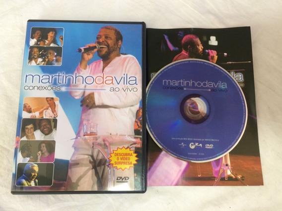 Dvd - Martinho Da Vila - Conexões Ao Vivo