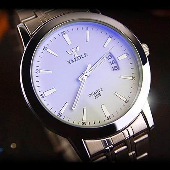 Relógio Masculino Yazole® Quartzo Aço + Caixa