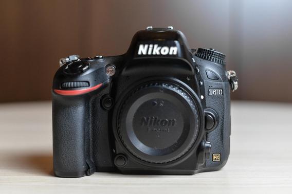 Câmera Nikon Dslr D610 Corpo