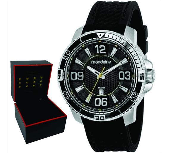 Relógio Mondaine Masculino Original Garantia Nf 53789g0mvni2
