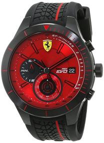 Relógio Ferrari Red Rev Evo Chrono