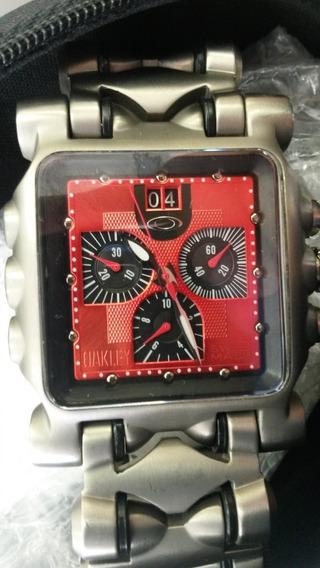 Relógio Oakley Minute Machine Tank Rp Premium