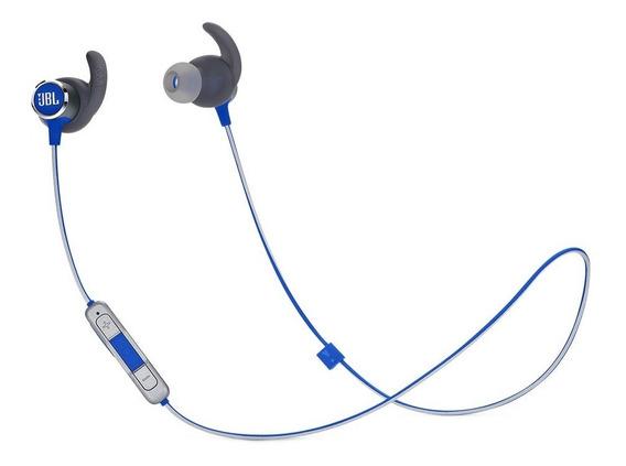 Fone De Ouvido Jbl Reflect Mini Bt 2 Bluetooth Sport Azul