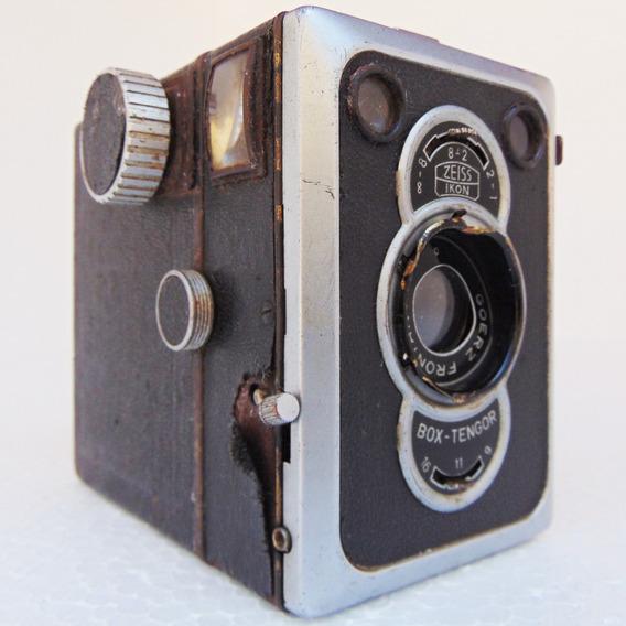 Maquina Fotográfica Câmera Zeiss Ikon Goerz Frontar Foto