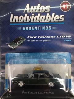 Autos Inolvidables Argentinos. Núm 41 . Ford Fairlane Ltd V8