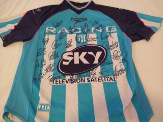 Camiseta De Racing Campeón 2001