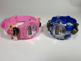 Kit 25 Relógios Infantil Crianças Bebês Kids Digital Atacado