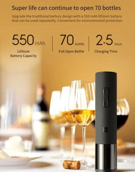 Descorchador De Botellas De Vino Eléctrico - Producto Xiaomi