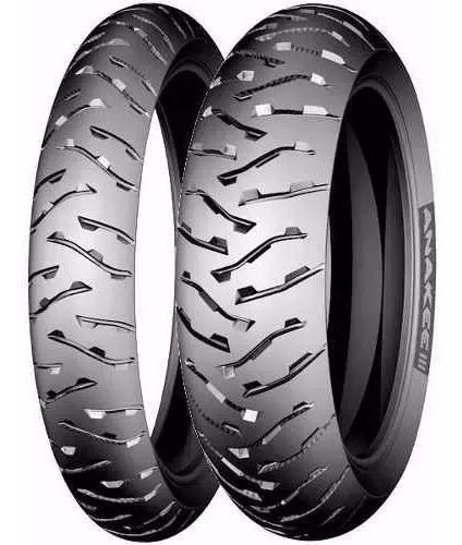 Par Pneu Michelin 150 70 / 17 110-80/19 Anakee 3 Bmw1200