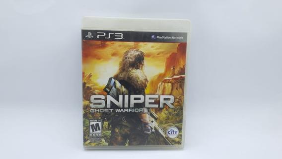 Sniper Ghost Warrior - Ps3 - Mídia Física Cd Original