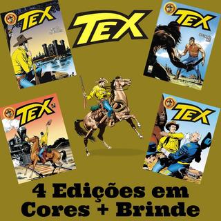 4 Hq Gibi Tex Em Cores - Histórias Completas + Brinde