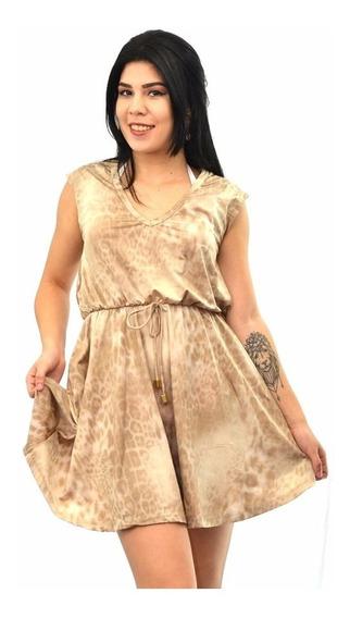 Vestido Saída De Praia R.25143 Saldo Da Coleção De 2.019