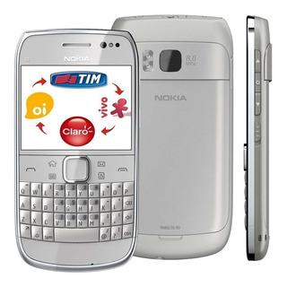Nokia E6-00, Raro, 3 G, Desbloq, 1chip, Novo Completo Anatel