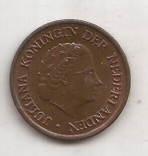 Holanda Moneda De 5 Cents Año 1954 !!