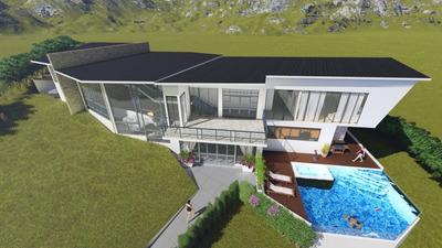 Casa Quinta Sobre Planos En Anapoima, Opcion 3