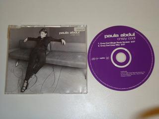 Maxi Cd Paula Abdul - Crazy Cool( Electronic, Pop )
