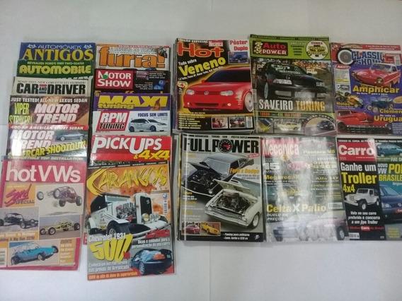 Coleção De Revistas De Carros