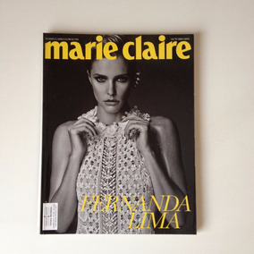 Revista Marie Claire Fernanda Lima Ano 2014