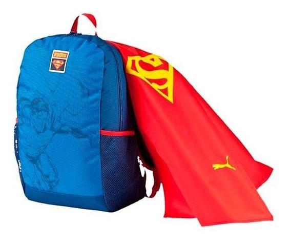 Mochila Escolar Infantil Puma Superman Original!