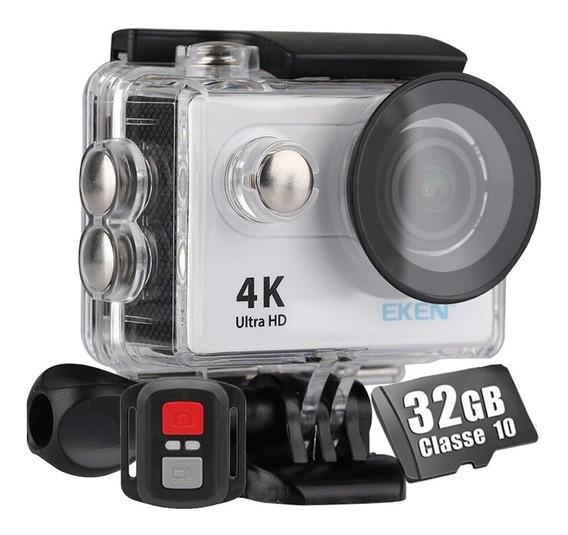 Câmera Sport 4k Eken H9r Action Cam + Cartão 32gb Classe 10