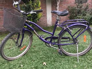 Bicicleta Violeta Marca Robert