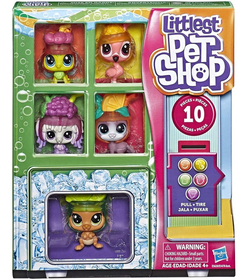 Little Pet Shop Maquina Expendedora Figuras
