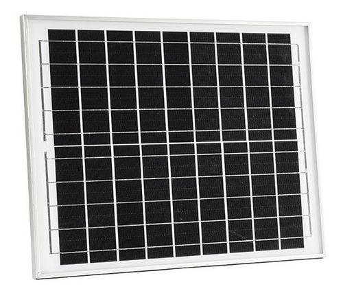 Imagen 1 de 9 de Panel Solar Poli Cristalino 30w 40w 50w 100w 150w 345w