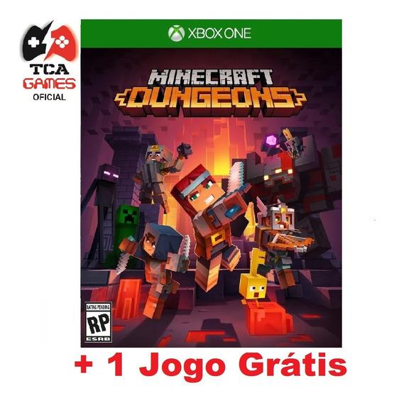 Minecraft Dungeons Xbox One Mídia Digital