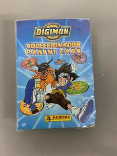 Album Digimon Coleccionador Panini Caps