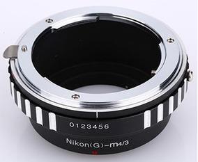 Anel Adaptador Lente Nikon F G Ai(g)-m43 M4/3 Olympus