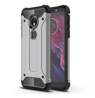 Funda Case Uso Rudo Para Moto G6 Play +cristal Templado