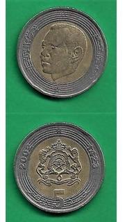 Grr-moneda De Marruecos 5 Dirhams 2002 - Rey Mohammed V I