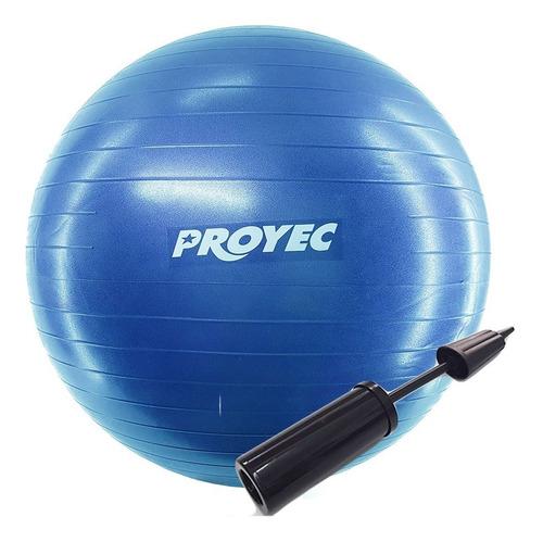 Pelota Esfera Esferodinamia Pilates 75 Cm Yoga Proyec + Inflador Esfera