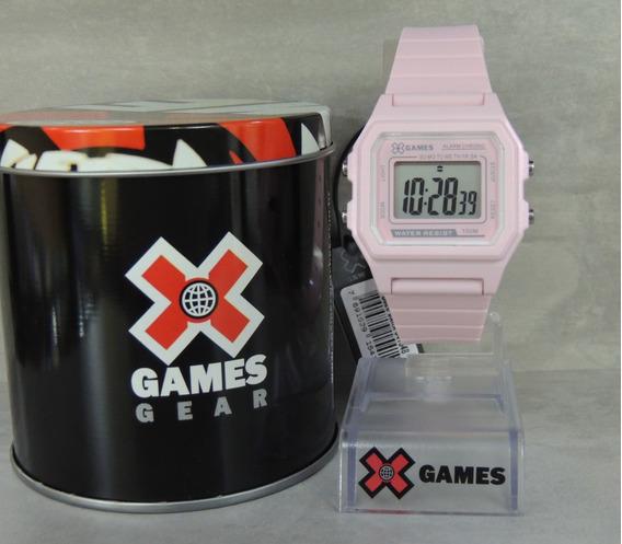 Relógio X Games Vintage Feminino Mod: Xlppd026 Bxrx ( Nf)