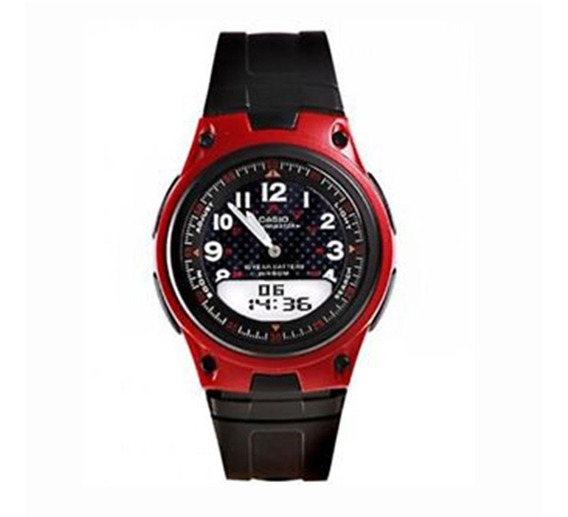 Relógio Casio Anadigi Masculino Aw-80-4bvdf