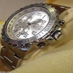 Relógio Invicta Prata Aço Inoxidável Cronômetro 6620 I I