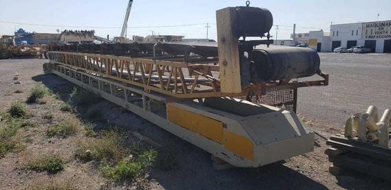 Transportador De Banda P/agregados Usado 19m X36 Pulgadas