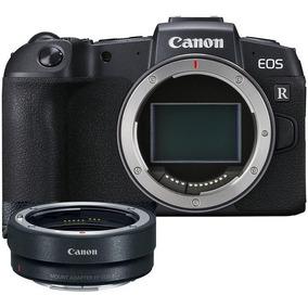 Canon Eos Rp Corpo + Adaptador Para Lentes Ef / Ef-s Nova !