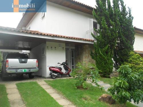 Imagem 1 de 15 de Lindo Sobrado Em Condomínio Bem Localizado. ( Aceita Terreno No S.paulo Ii) - Rt1434