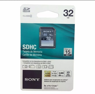 Cartão De Memória Sony 32gb