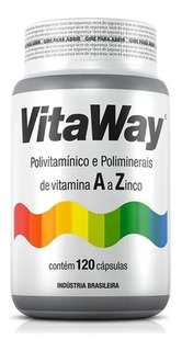 Vitaway Polivitamínico A A Z Fitoway 120 Caps *imunidade*