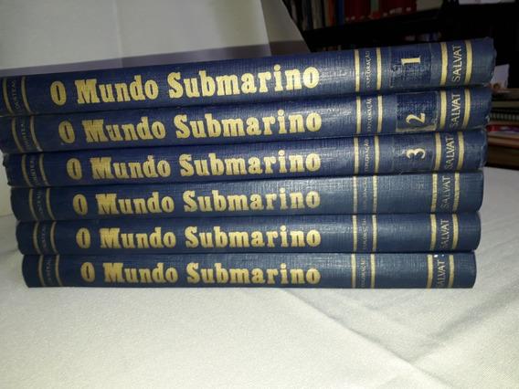 Coleçao O Mundo Submarino Jacques-ives Cousteau 5 Volumes