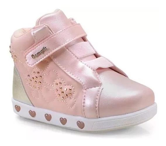 Tênis Pampili 165093 Sneaker Luzinha Schuh Haus I 10586