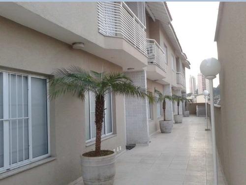 Imagem 1 de 24 de Sobrado Em Condomínio Com 3 Dorms Sendo 1 Suíte, 3 Vagas, 160m² - So0111