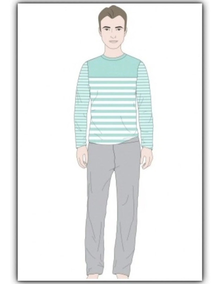 Pijama Infanto Juvenil Listrado