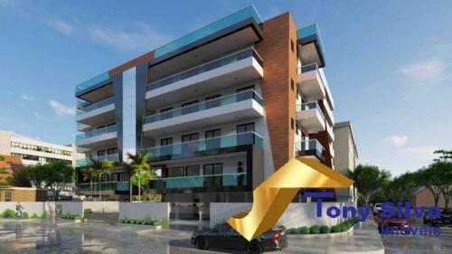 Imagem 1 de 8 de Lançamento De Apartamentos  De 3 Quartos No Algodoal Ed.  Portillo!!! - 1048